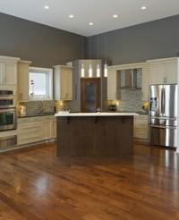 Modern Interior Design with hardwood floor